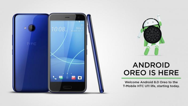 Android Oreo 8.0 HTC U11 Life