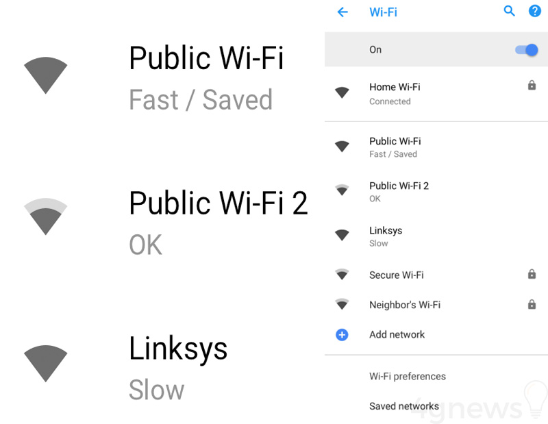 Android Oreo 8.1 Wi-Fi 1