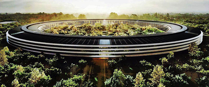Apple Campus Jony Ive Design