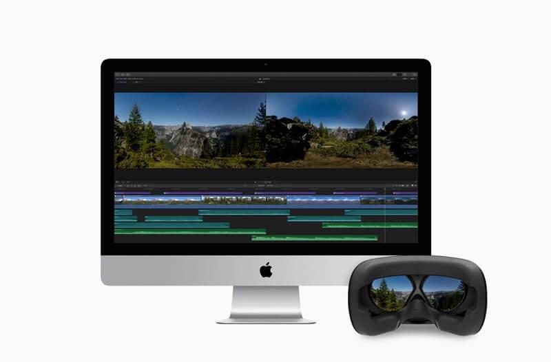 Apple Final Cut Pro X já consegue editar vídeos de Realidade Virtual