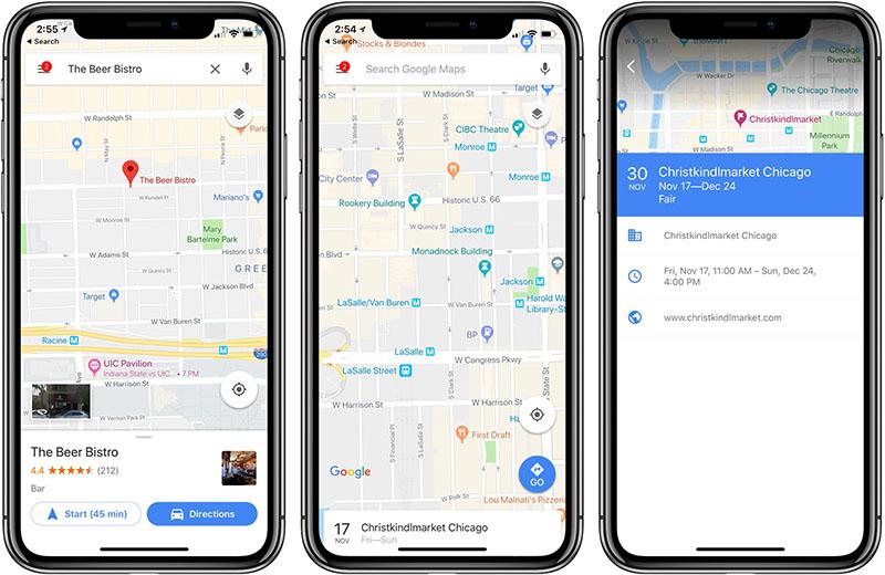 China Google Maps Apple iPhone X regresso China