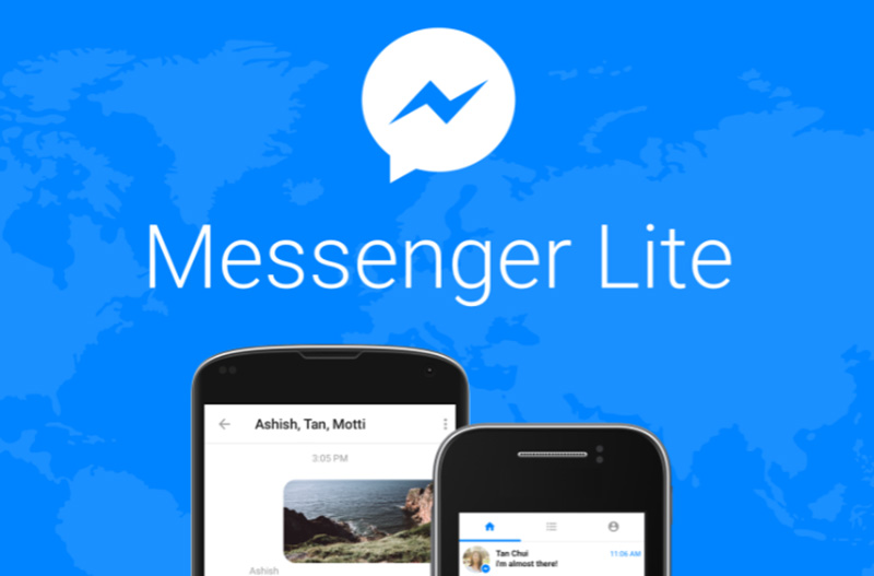 2018 Facebook Messenger Lite Google Play Store