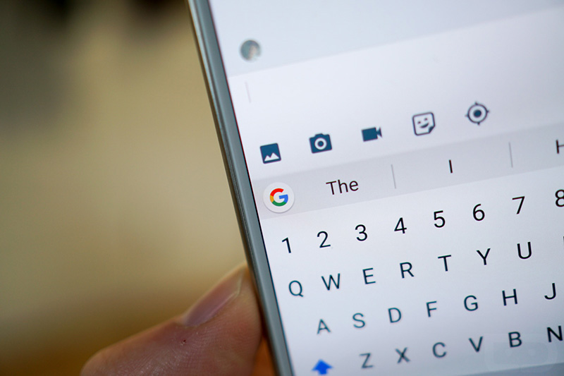 Grammarly Gboard teclado Google Play Store Android