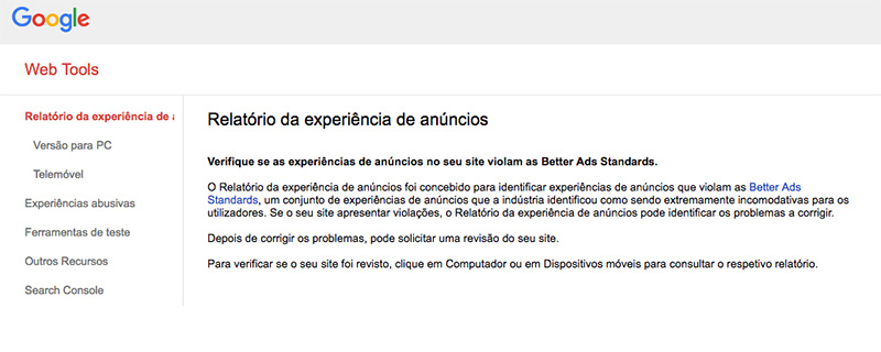 Google Chrome bloquear publicidades
