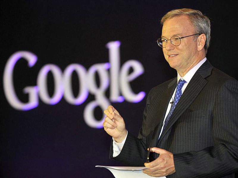 Google Eric Schmidt Alphabet