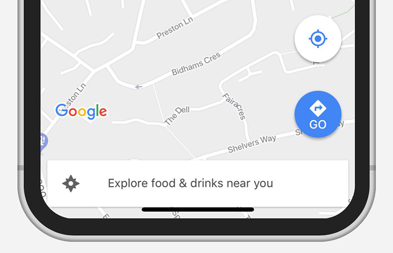 Google Maps Apple iPhone X