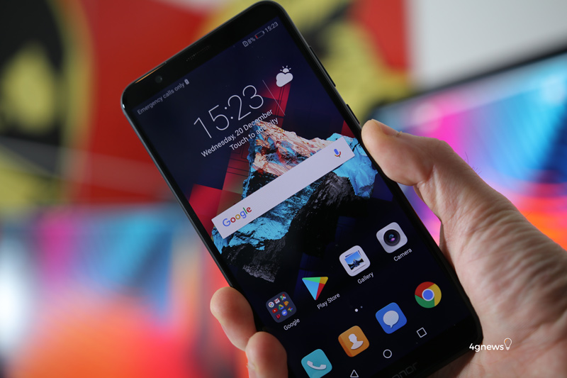Huawei Honor 7X smartphone Android Portugal Face Unlock