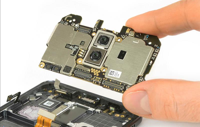 Huawei Mate 10 Pro iFixit câmara tripla Huawei P11