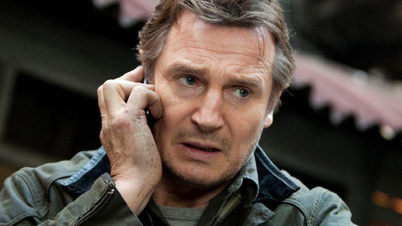 Liam Neeson Waze voz