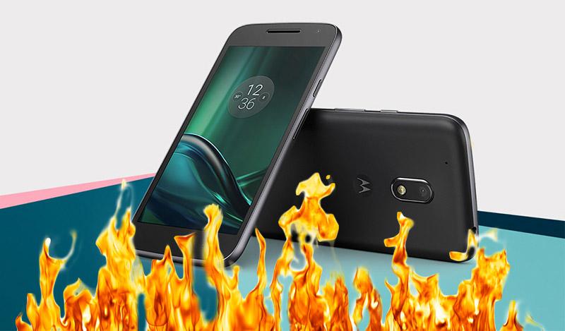 Motorola Moto G4 explode no bolso de utilizador brasileiro