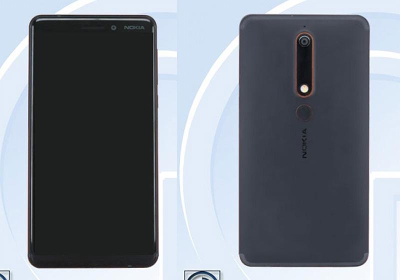 certificado Nokia 6 (2018) TENAA certificação