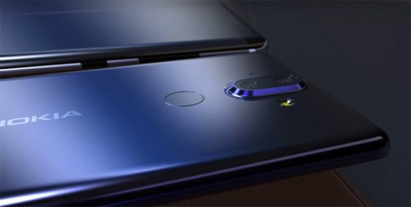 Nokia 9 Nokia 6 (2018) Android Oreo 8.0 smartphone
