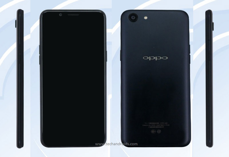 OPPO A83 TENAA smartphone Android TENAA