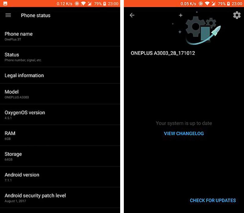 OnePlus 3 OnePlus 3T Android Oreo OxygenOS