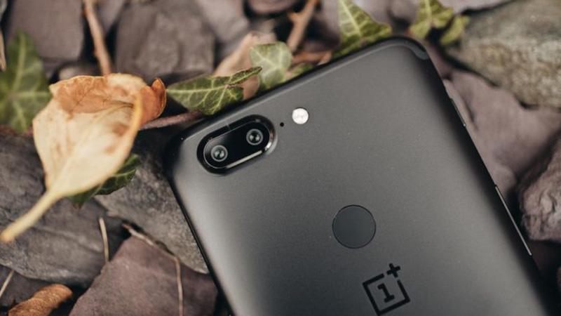 OnePlus 5T OnePlus 6 sensor de impressões digitais ecrã
