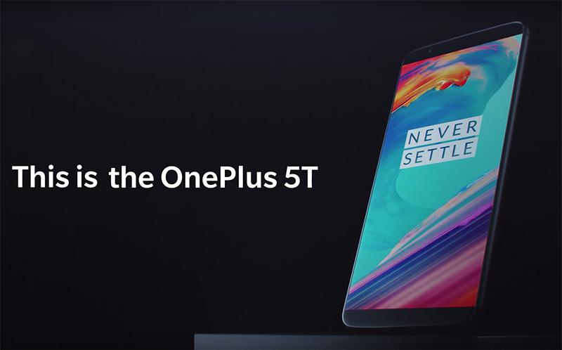 OnePlus 5T novo vídeo valor