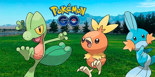 Pokémon GO Terceira Geração Hoenn Niantic