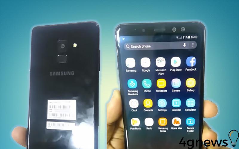 video Samsung Galaxy A8 2018 vídeo