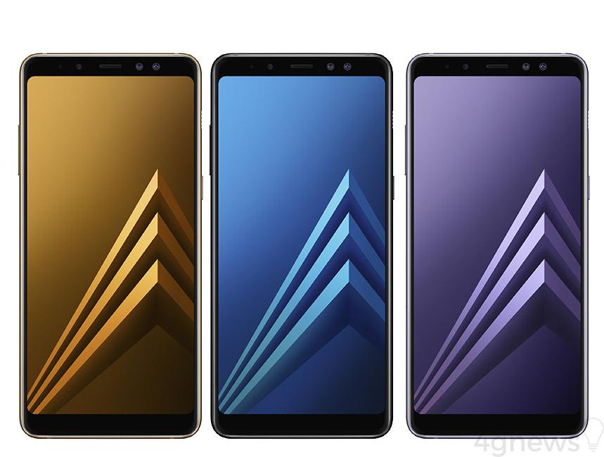 Samsung Galaxy A6 (2018) Android Oreo Samsung Galaxy A8 2018 Samsung Galaxy A8+ 2018