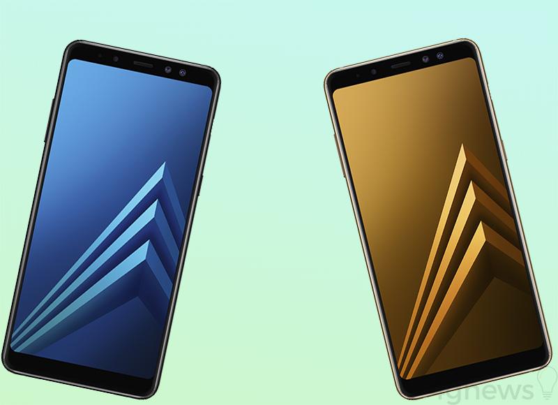 Samsung Galaxy A8 (2018) Samsung Galaxy A8+ (2018) smartphone Android