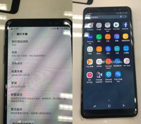 fotos reais Samsung Galaxy A8 2018
