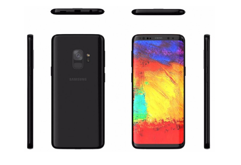 Samsung Galaxy S9 - Smartphone volta a ser mostrado em imagem
