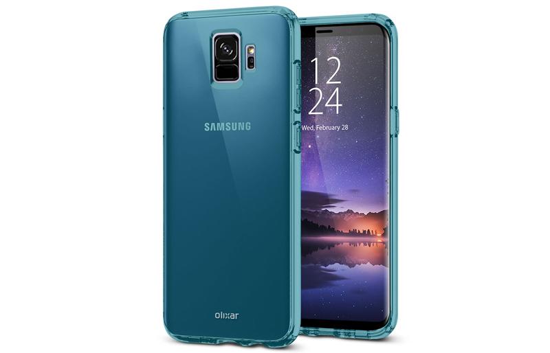 Samsung Galaxy S9 - Capas de proteção revelam o design por completo