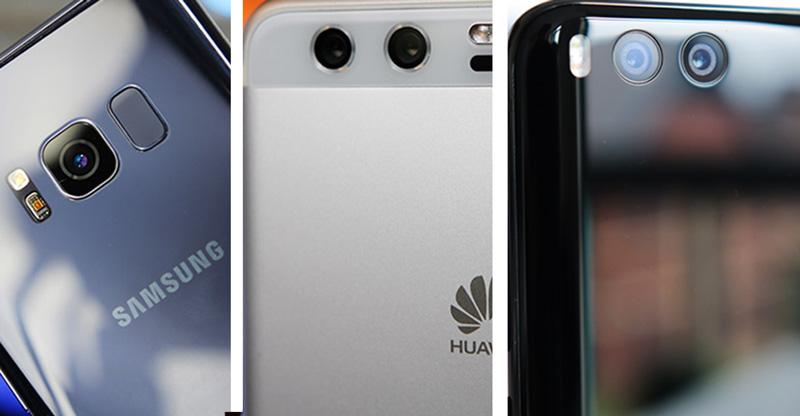 Samsung Galaxy S9, Xiaomi Mi 7 e Huawei P20 o que esperar de 2018?