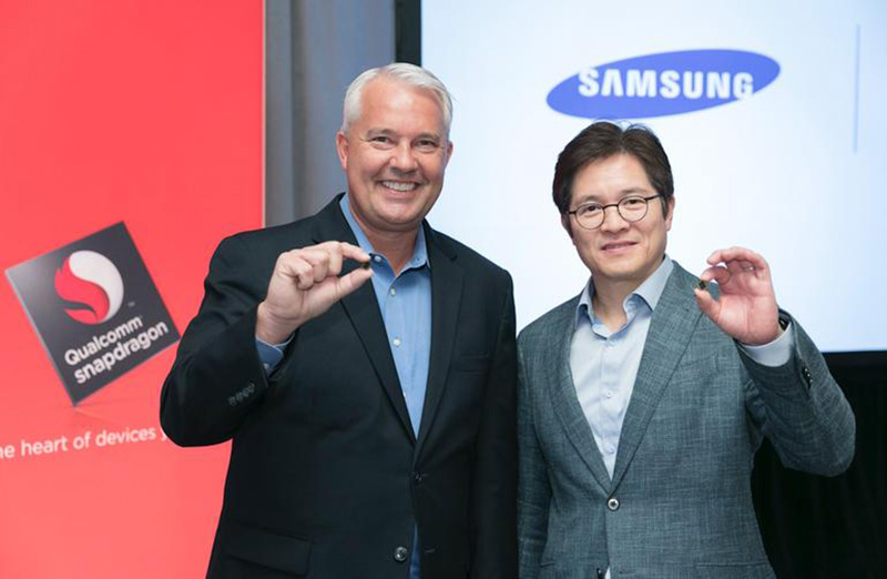 Qualcomm Snapdragon 845 Qualcomm Snapdragon 835 Samsung Qualcomm parceria 2018