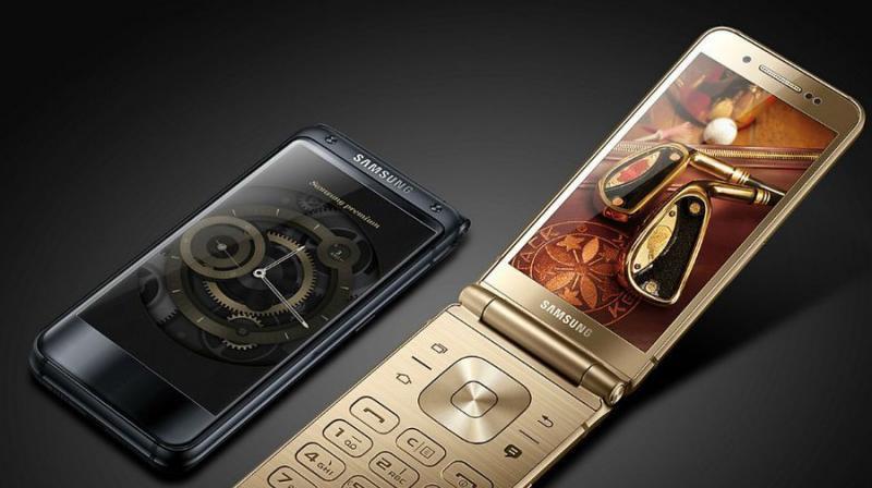 Samsung W2019 smartphones concha