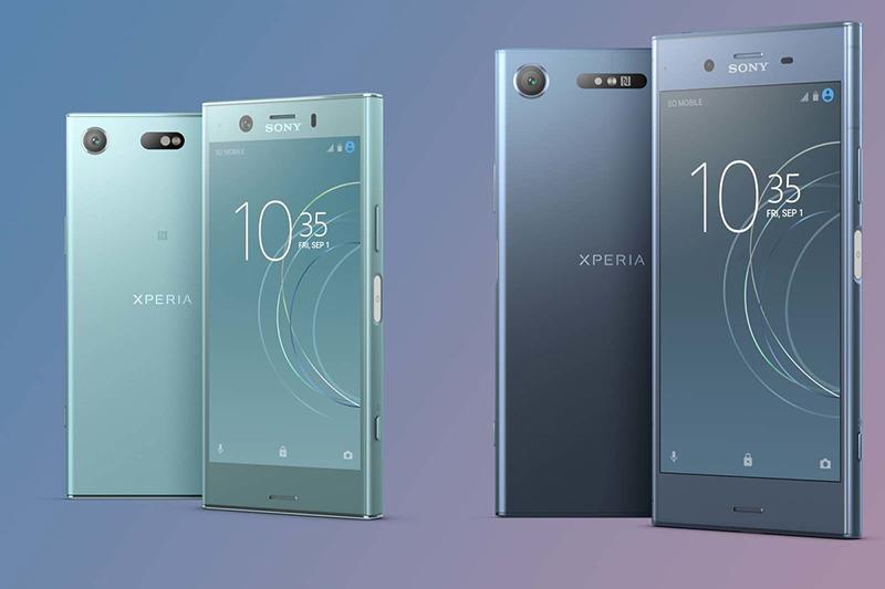 Sony Xperia XZ Premium Android atualização XZ1