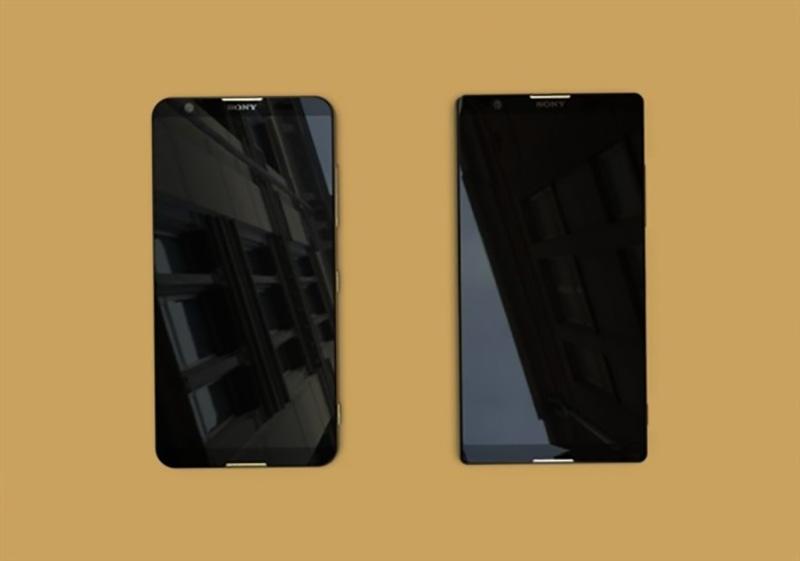Sony Xperia bezel less smartphone 1