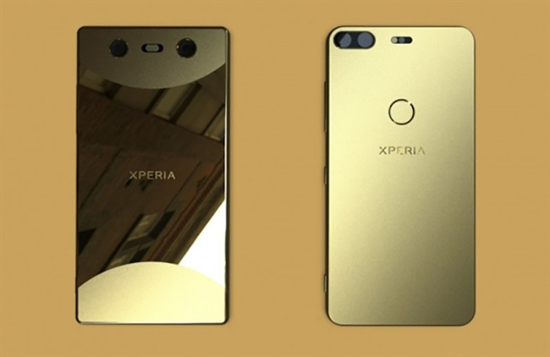 Sony Xperia bezel-less smartphone Android