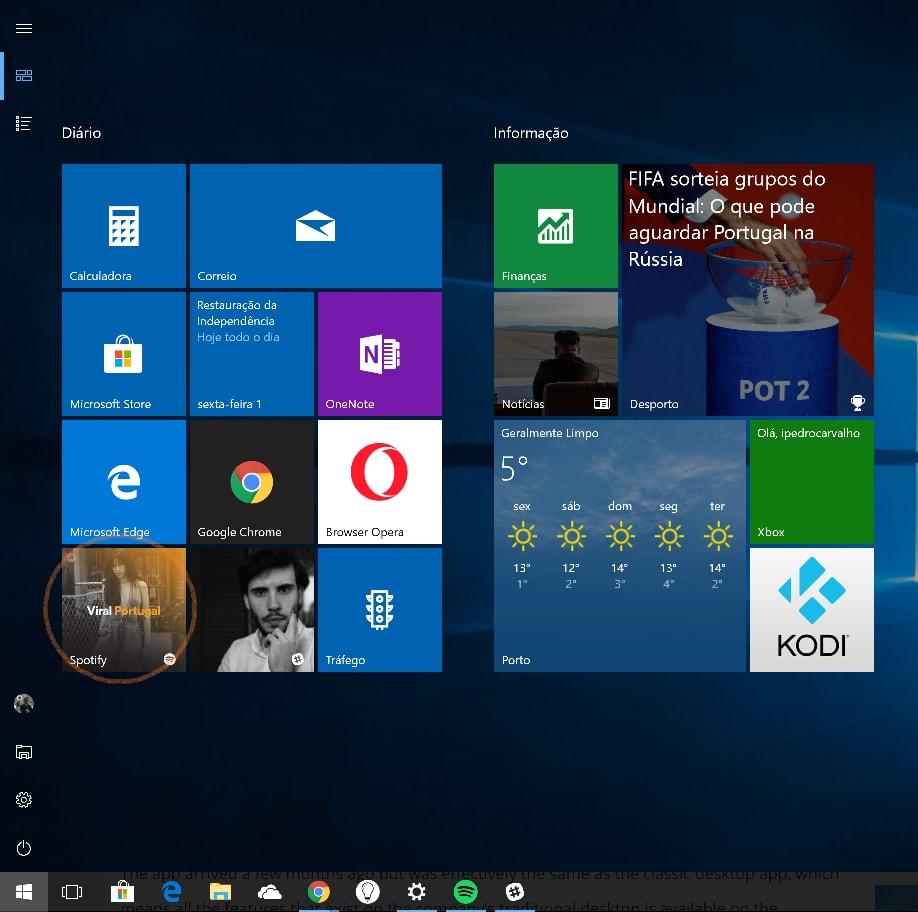 Spotify Windows 10 Microsoft