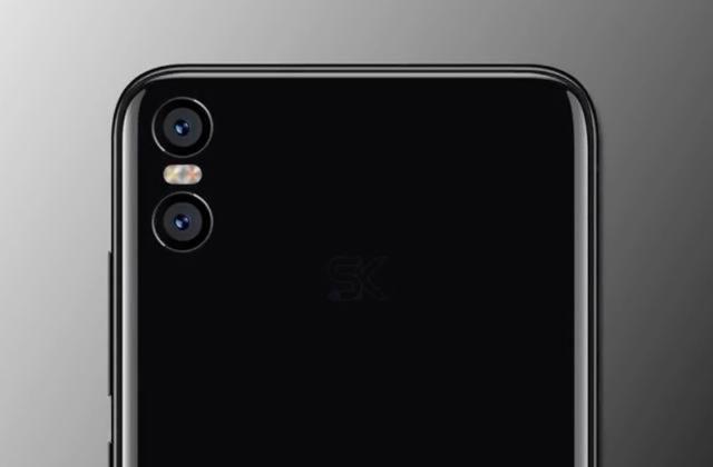 Samsung Galaxy S9 Xiaomi Mi 7 imagens reais