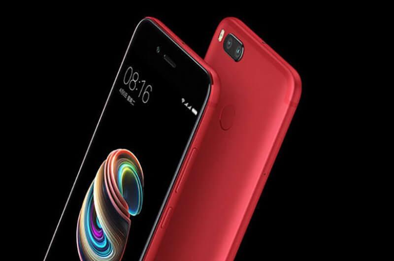 Xiaomi Mi A1 e OnePlus 5T - Agora em vermelho Lava