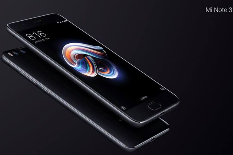Xiaomi Mi Note 3 Apple iPhone 8