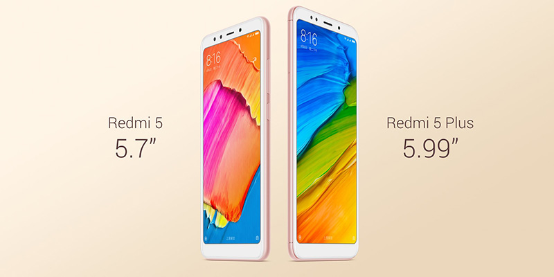 Xiaomi Redmi Note 5 Plus Europa Android Xiaomi Redmi 5 Xiaomi Redmi 5 Plus