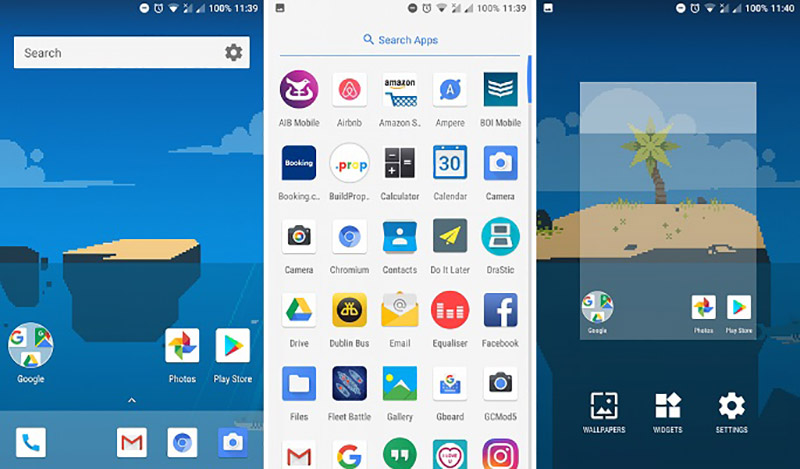 Android One Xiaomi Mi A1 launcher