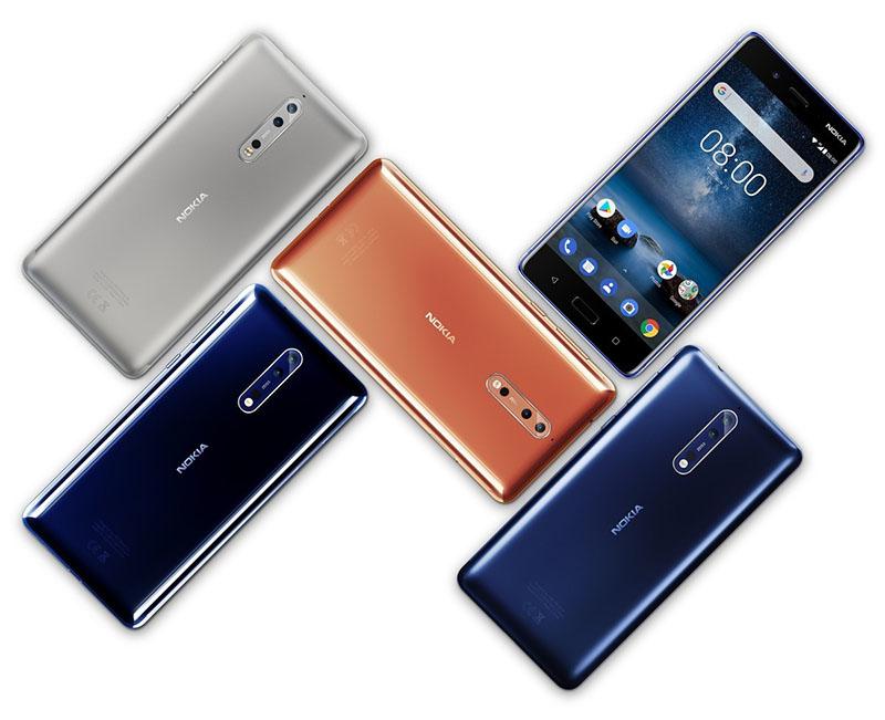 Android Oreo 8.1 Nokia 8 foto