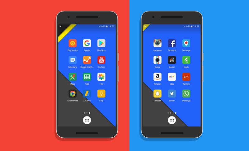Google Play Store Android - Pack de ícones temporariamente grátis