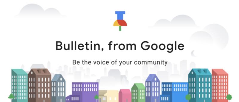 Google Bulletin aplicação Android