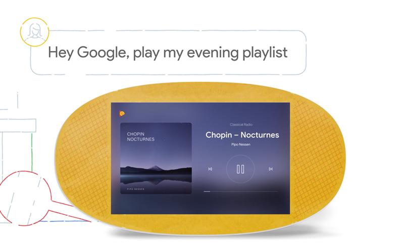Google lança um novo Google Home, agora com ecrã
