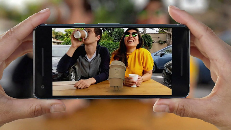 Google Pixel 2 Câmara modo retrato