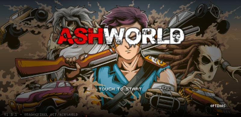 Google Play Store Android jogo AshWorld OrangePixel cópia