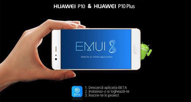 Huawei P10 Plus Android Oreo Beta