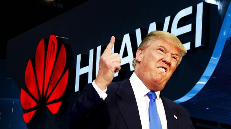 Huawei Trump EUA Estados Unidos da Amérida