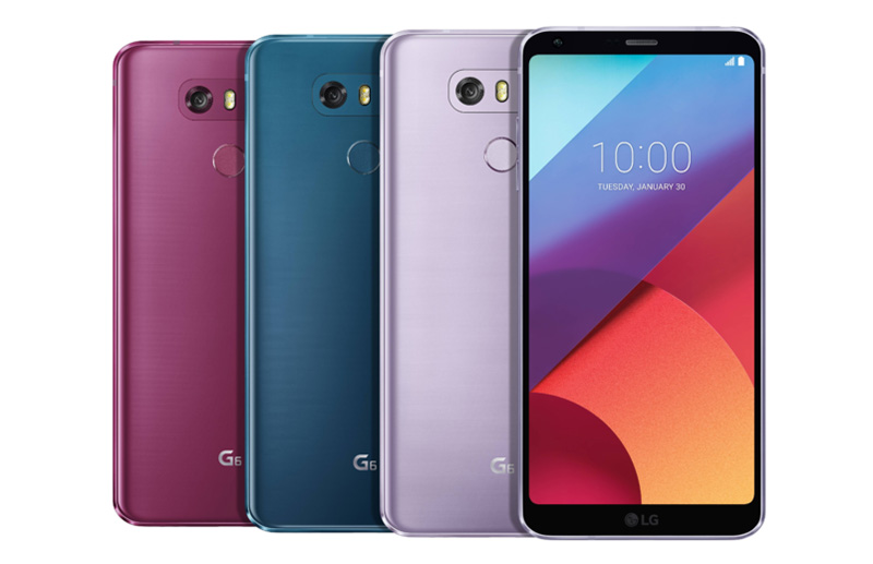 LG G6 LG Q6 Android Oreo smartphone