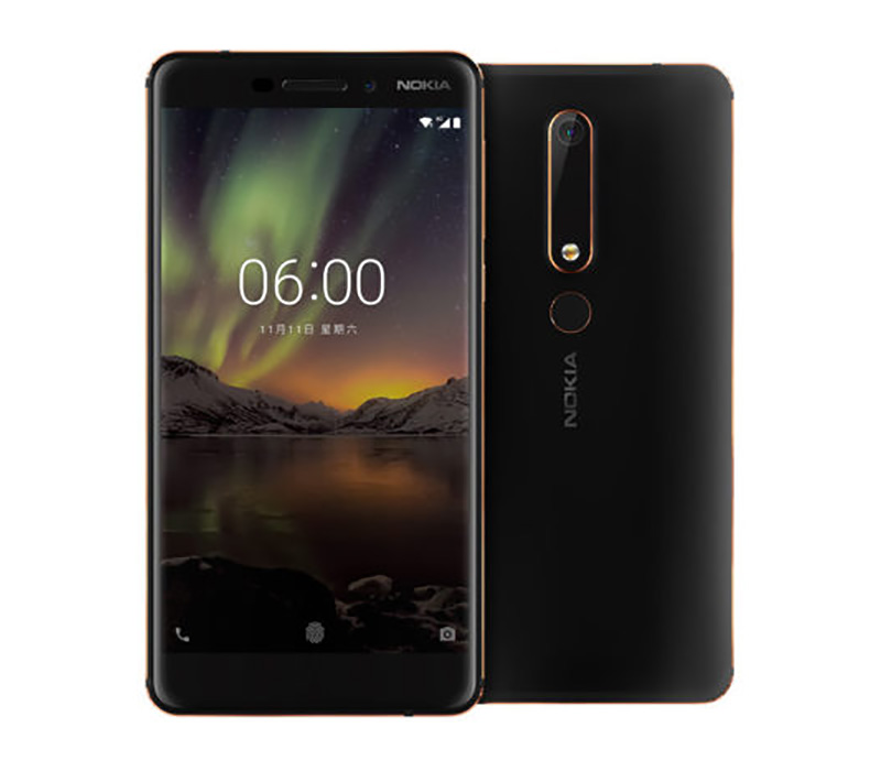 Nokia 6 2018 smartphone Android 1