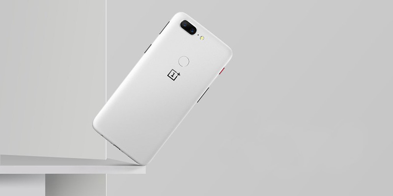 OnePlus 5T SandStone White Android